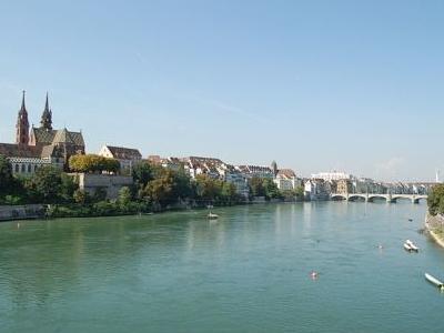 Rhine In Basel