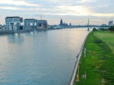 Rhine In Cologne