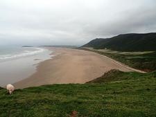 Rhossili Bay & Beach - Wales UK