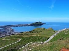 Rhossili Bay Cliffs Walk - Wales UK