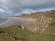 Rhossili Beach @ Wales UK
