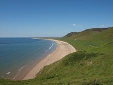 Rhossili Coastline - Wales UK