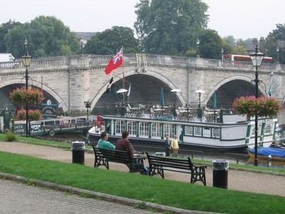 Richmond  Bridge And Riverside