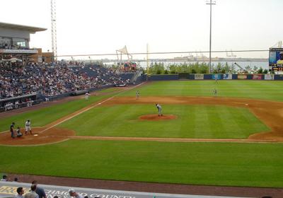 Richmond County Bank Ballpark During A Game