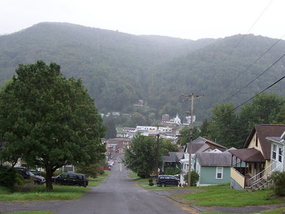 Richwood Looking Down Oakford