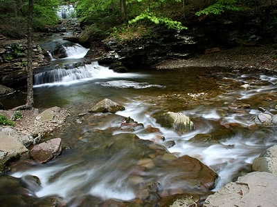 Ricketts Glen State Park PA - Kitchen Creek