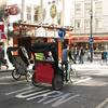Rickshaws In St Martin's Lane