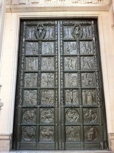Right Hand Bronze Doors