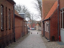 Typical Street In Ringkobing