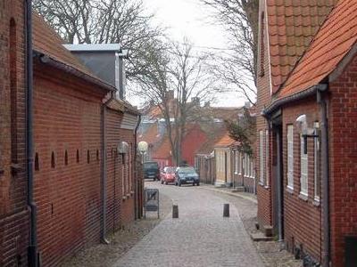 Typical Street In Ringkobing