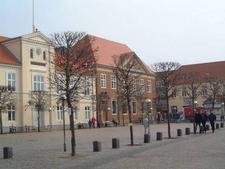 Town Square In Ringkobing