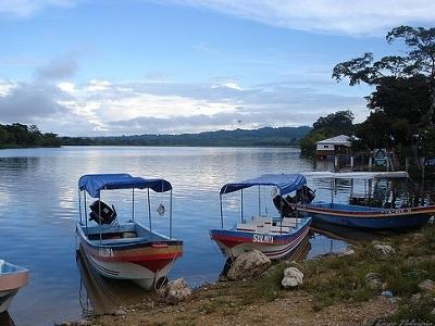 Rio San Pedro - El Naranjo Peten