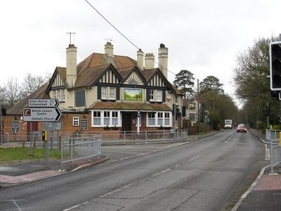 Rising  Sun Pub  Burghfield Common