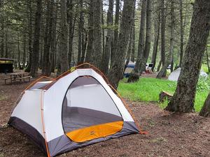 Rising Sun Campsite - Glacier - Montana - USA