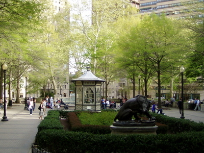 A Springtime At Rittenhouse Square