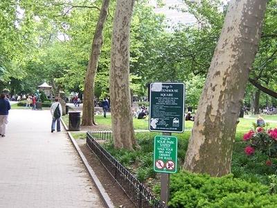 Rittenhouse Square Northeast Corner