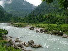 River Flowing Through Munsiyari