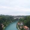 River Aare - View From Kornhausbrücke