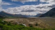 River Basin Near Arthur's Pass - South Island NZ
