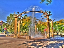 Riverfront Park Fountain - Spokane WA