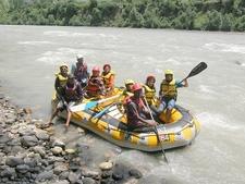 River Rafting In Beas River Near Kullu HP