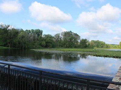 River Raisin Through Sharon Township