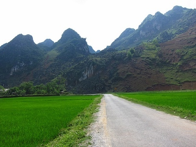 Road Leading To Yen Minh