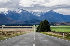 Road To Arthur's Pass - South Island NZ