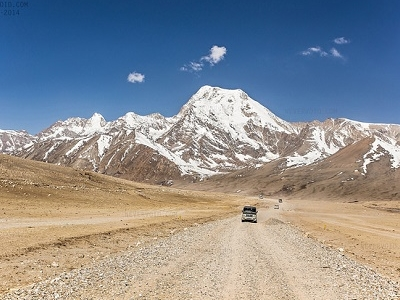 Road To Gurudongmar Lake In Sikkim