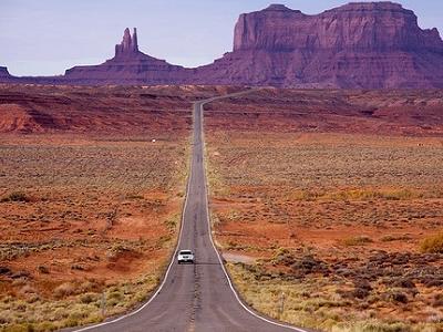 Road To Hunts Mesa AZ