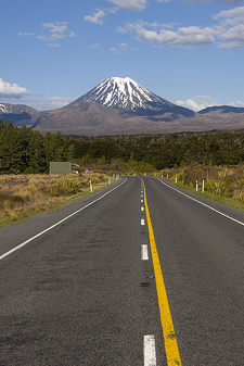 Road To Mount Ngauruhoe