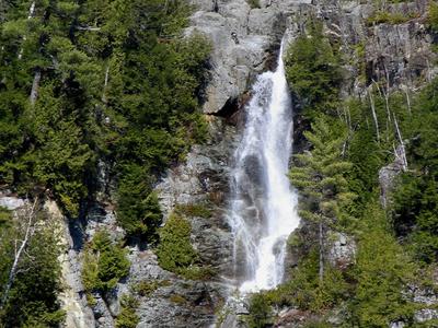 Roaring  Brook  Falls     St  Huberts  N Y