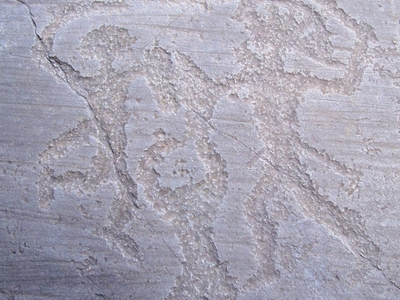 Rock Drawings In Valcamonica