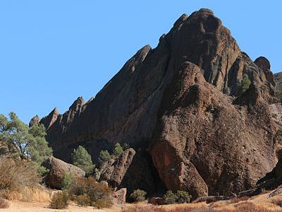 Rock Formation At Pinnacles National Monument