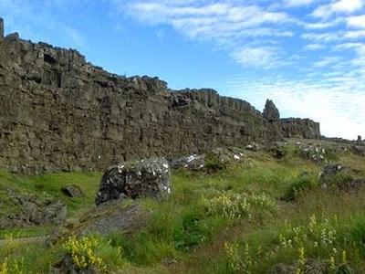 Rock Of Law In Þingvellir