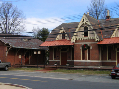 Rockville Railroad Station