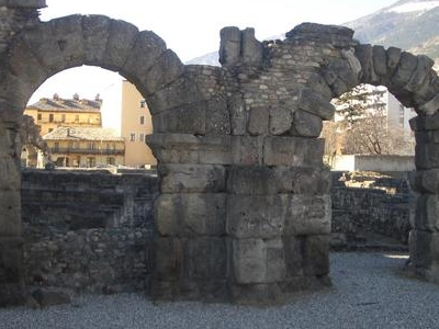 Arches Of The Roman Theatre