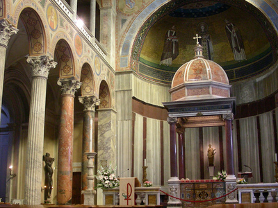 The Altar And Apse