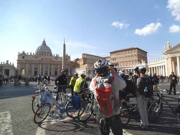 Rome Bike Tour : Rome Jubilee Bike Tour Photos