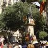 Rafael Casanova Monument On Ronda De Sant Pere