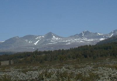 Smiubelgen In Rondane National Park