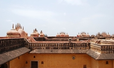 Roof Terrace Of Nahargarh Fort