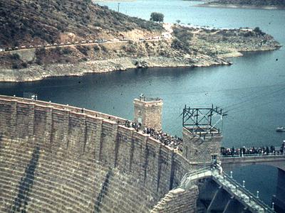 Roosevelt Dam Near Globe