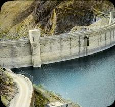 Roosevelt Dam Over Salt River