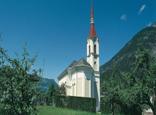 Roppen Parish Church Austria