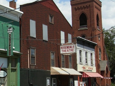 Rosendale  Theatre Crop