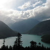 Diablo Lake From Hwy 20