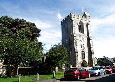 Rothbury Northumberland All Saints  Church