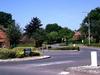 Roundabout At  Langshott  Housing  Estate  Horley