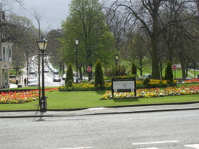 Roundabout Near The Valley Gardens